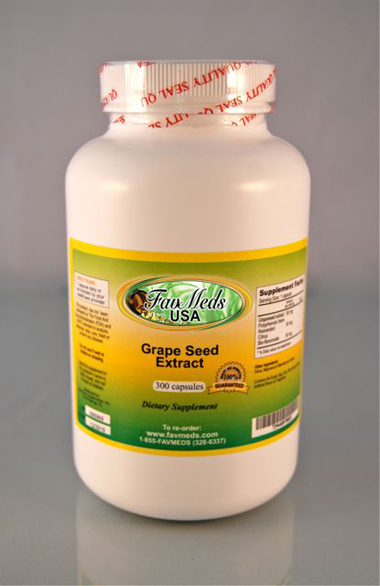 Grapeseed Extract 50mg - 300 capsules