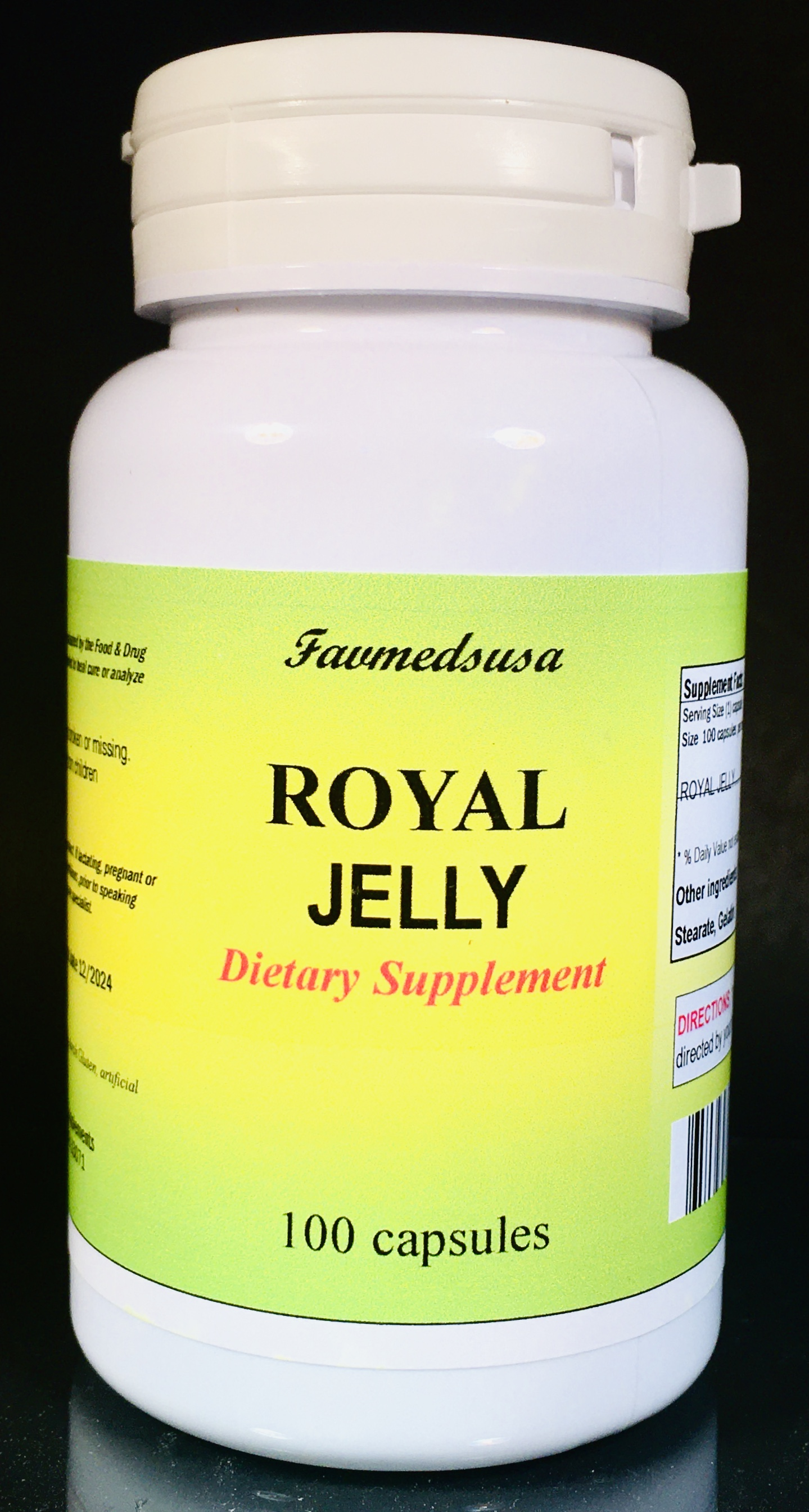 Royal Jelly 500mg - 100 Capsules